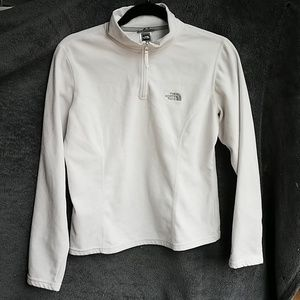 Women's North Face 1/4 zip pullover